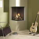 2 Sided Corner Fireplace