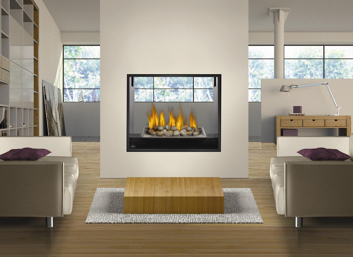 2 Sided Fireplace Inserts Fireplace Designs