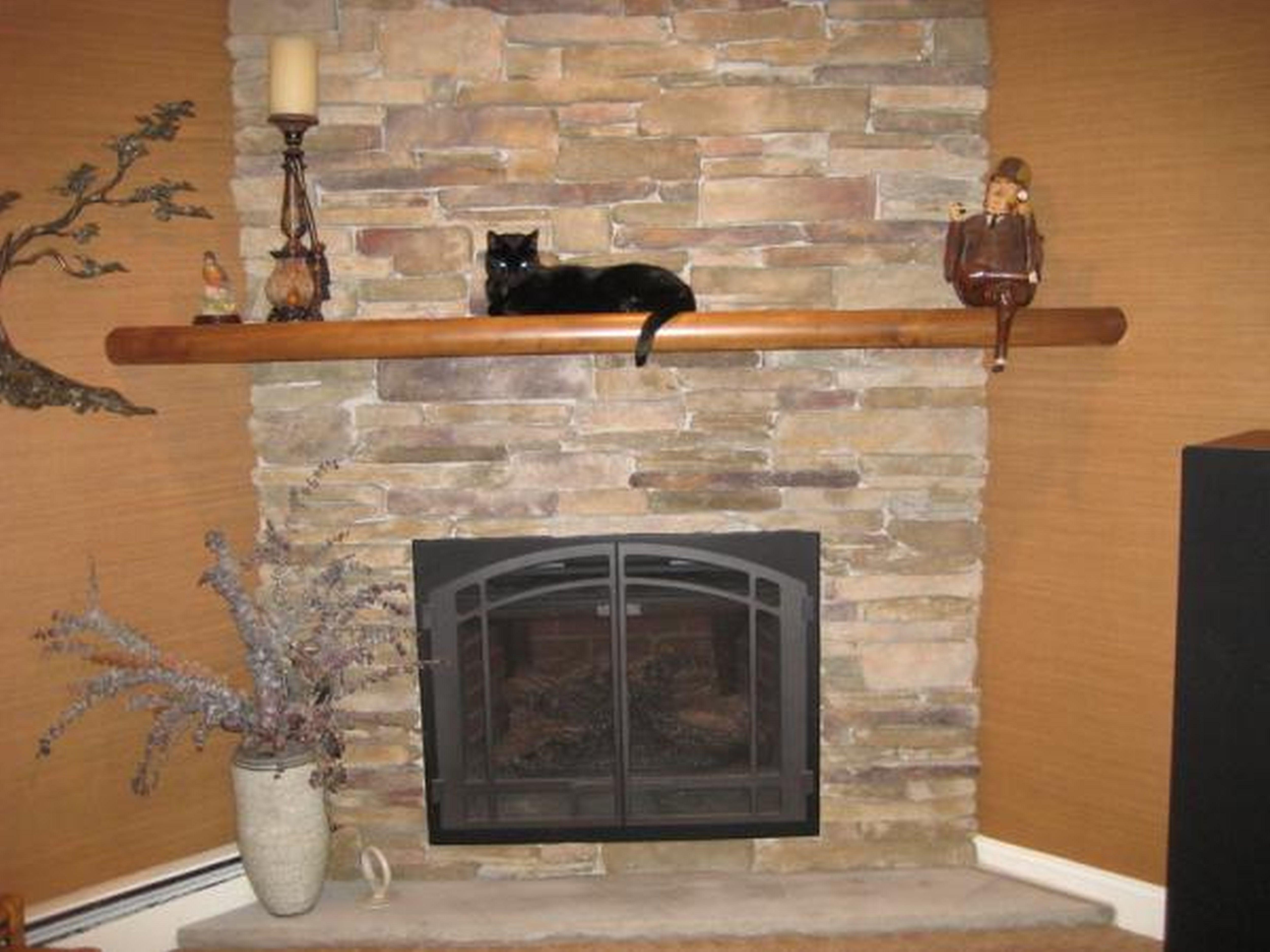 Simple made and attractive air stone fireplace fireplace Fireplace plans