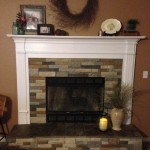 Air Stone Fireplace Makeover