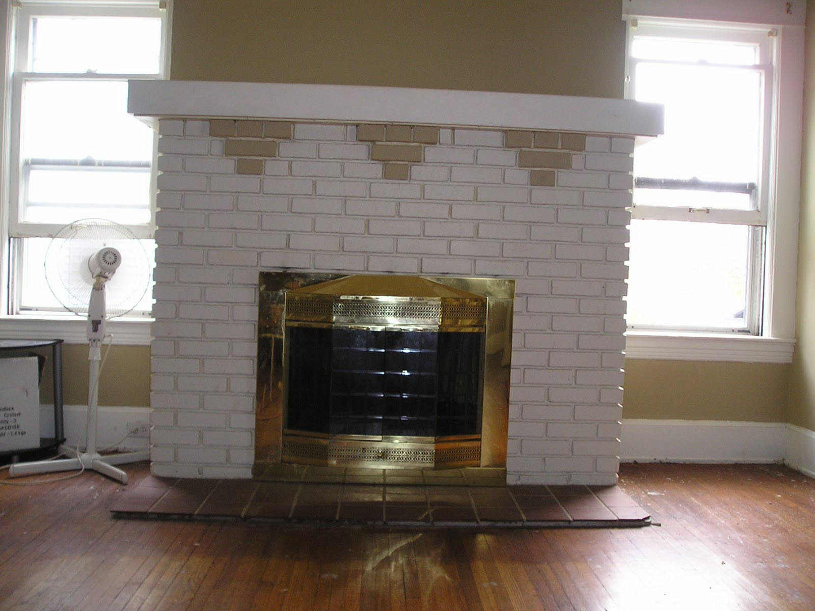 Colors For Brick Fireplace Best Way To Paint