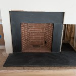 Black Slate Fireplace Surround