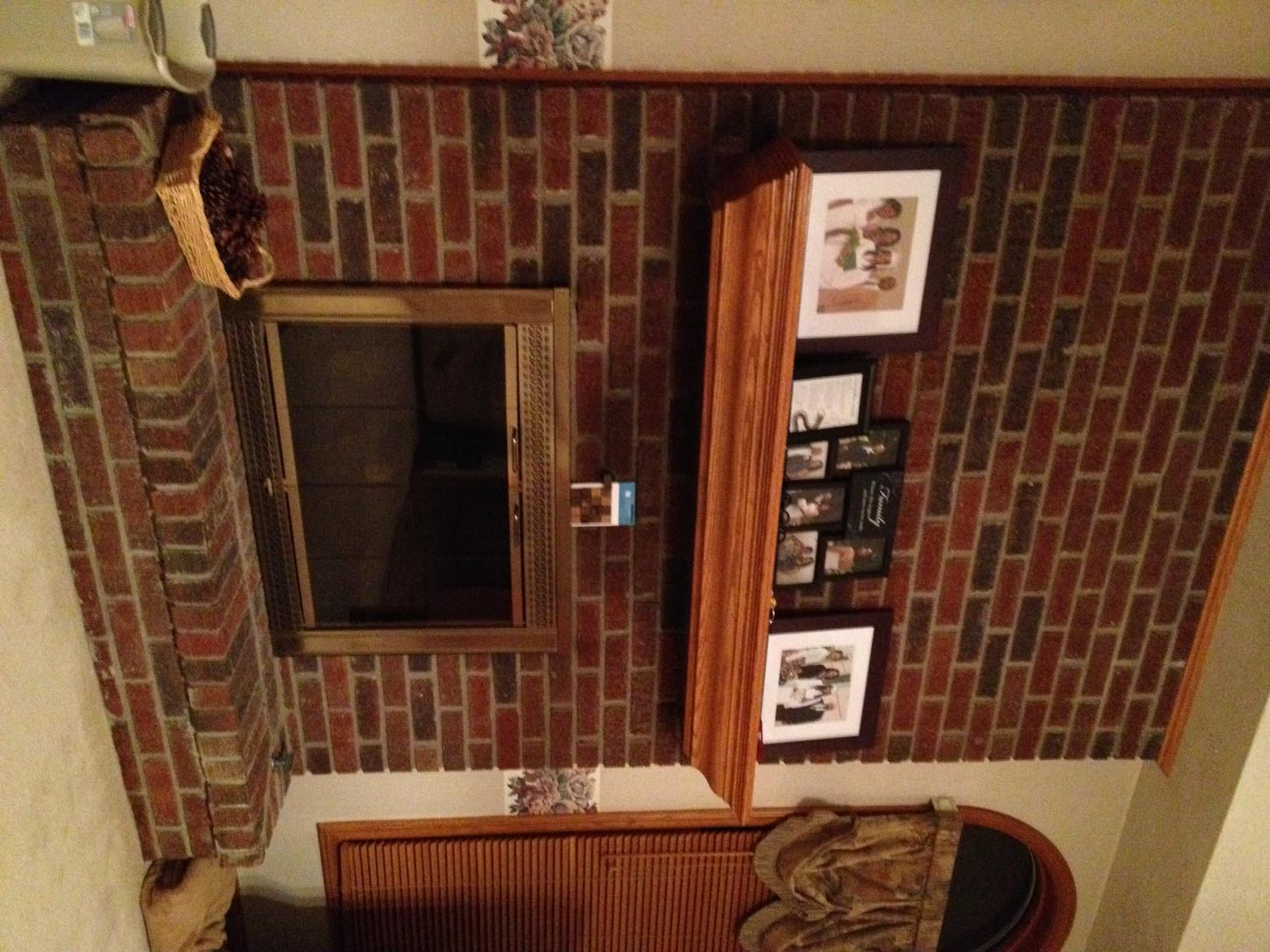 Brick Fireplace Makeover Pictures