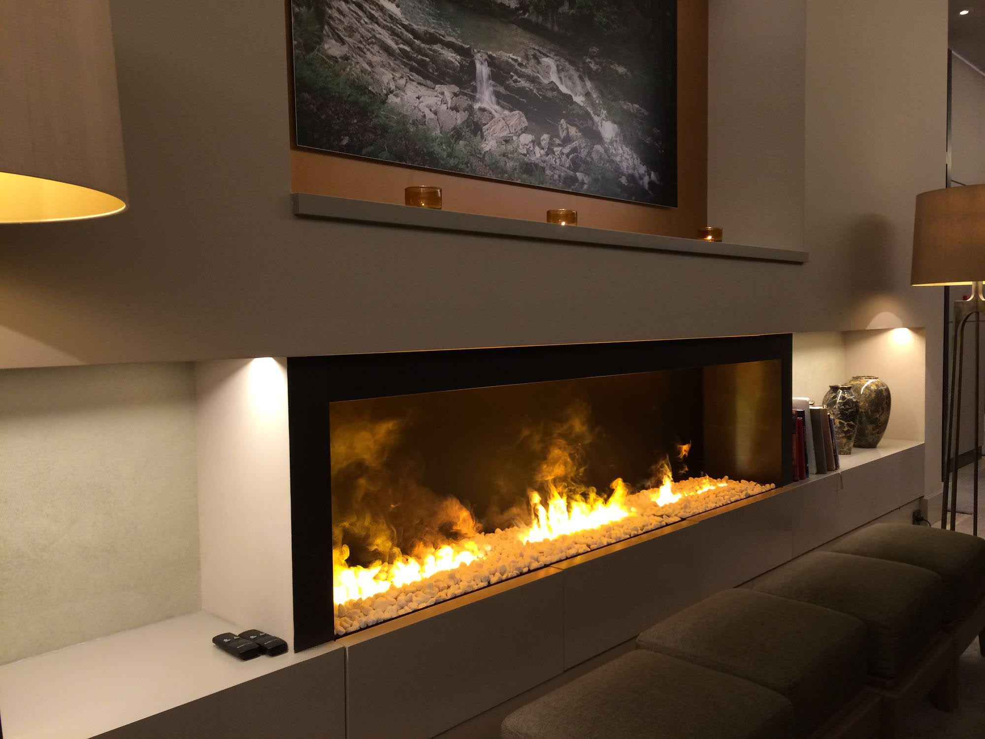 Built-in Electric Fireplace Inserts