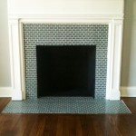 Ceramic Tile Fireplace Surround