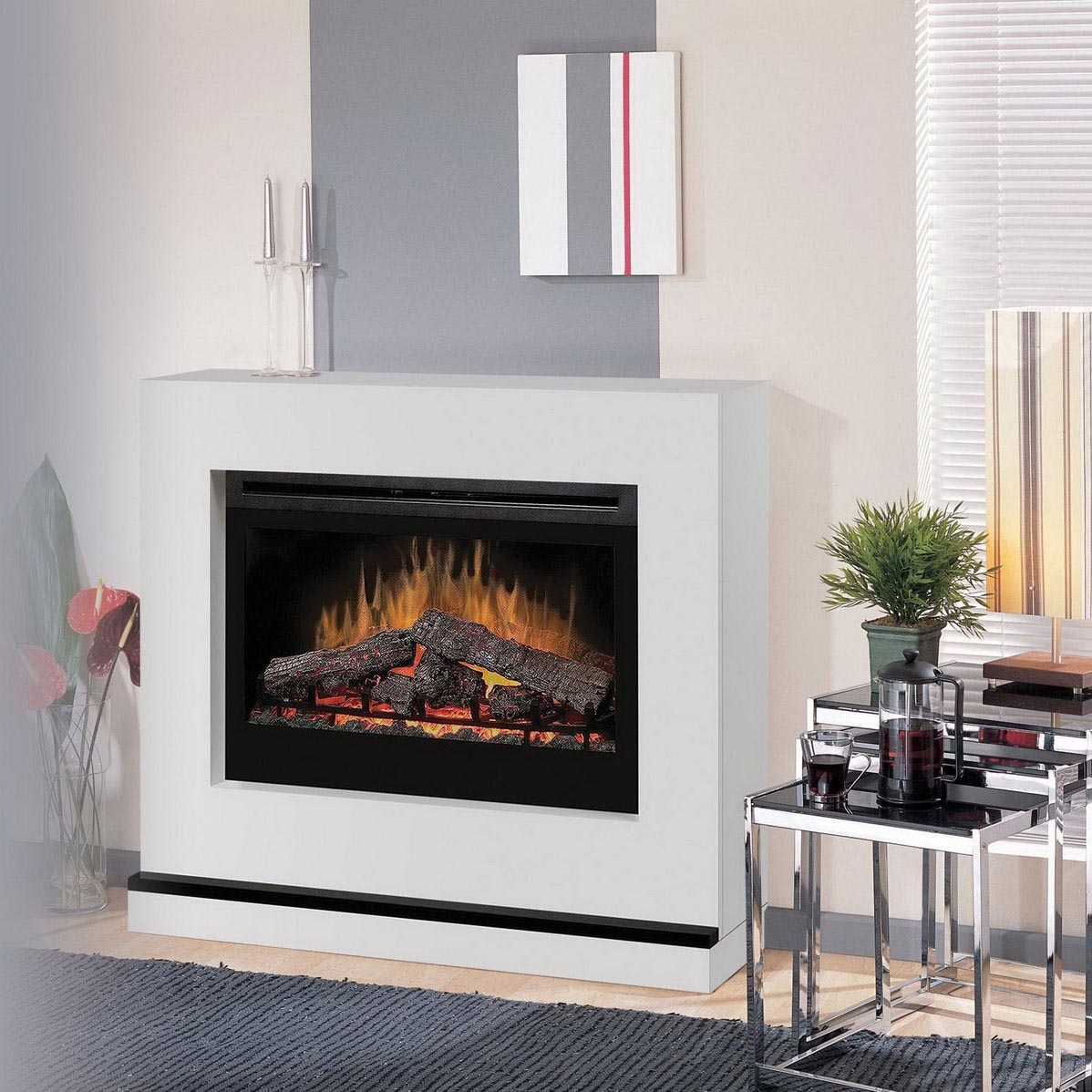 Contemporary Electric Fireplace Designs