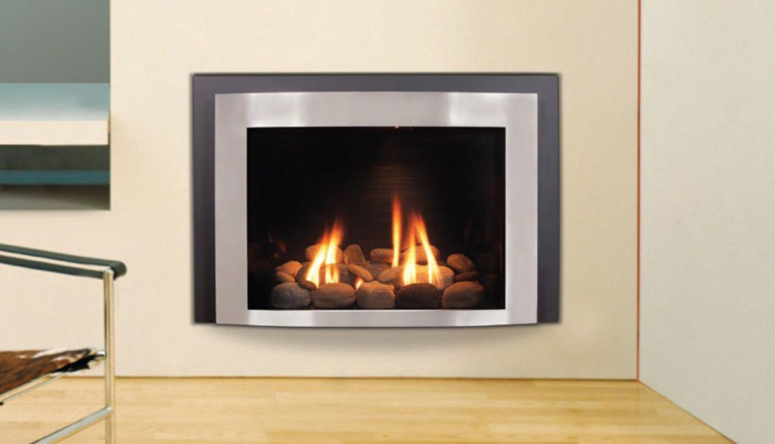 Contemporary electric fireplace insert fireplace designs for Contemporary fireplace insert