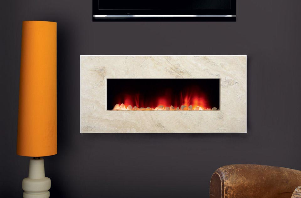 Contemporary wall mount electric fireplace fireplace designs for Fireplace wall