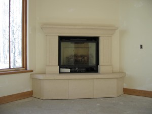Corner Fireplace Mantels Ideas