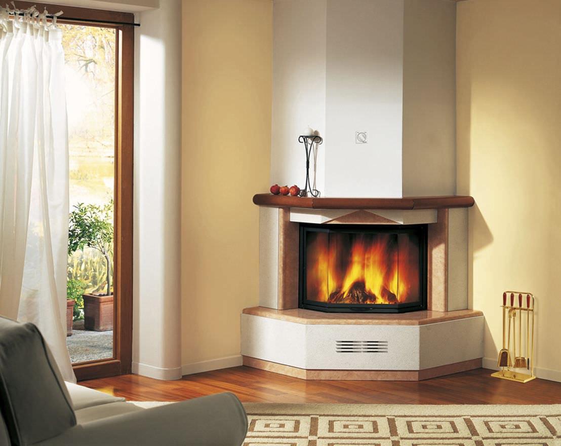 Corner fireplace mantels wood fireplace designs for Corner fireplace plans