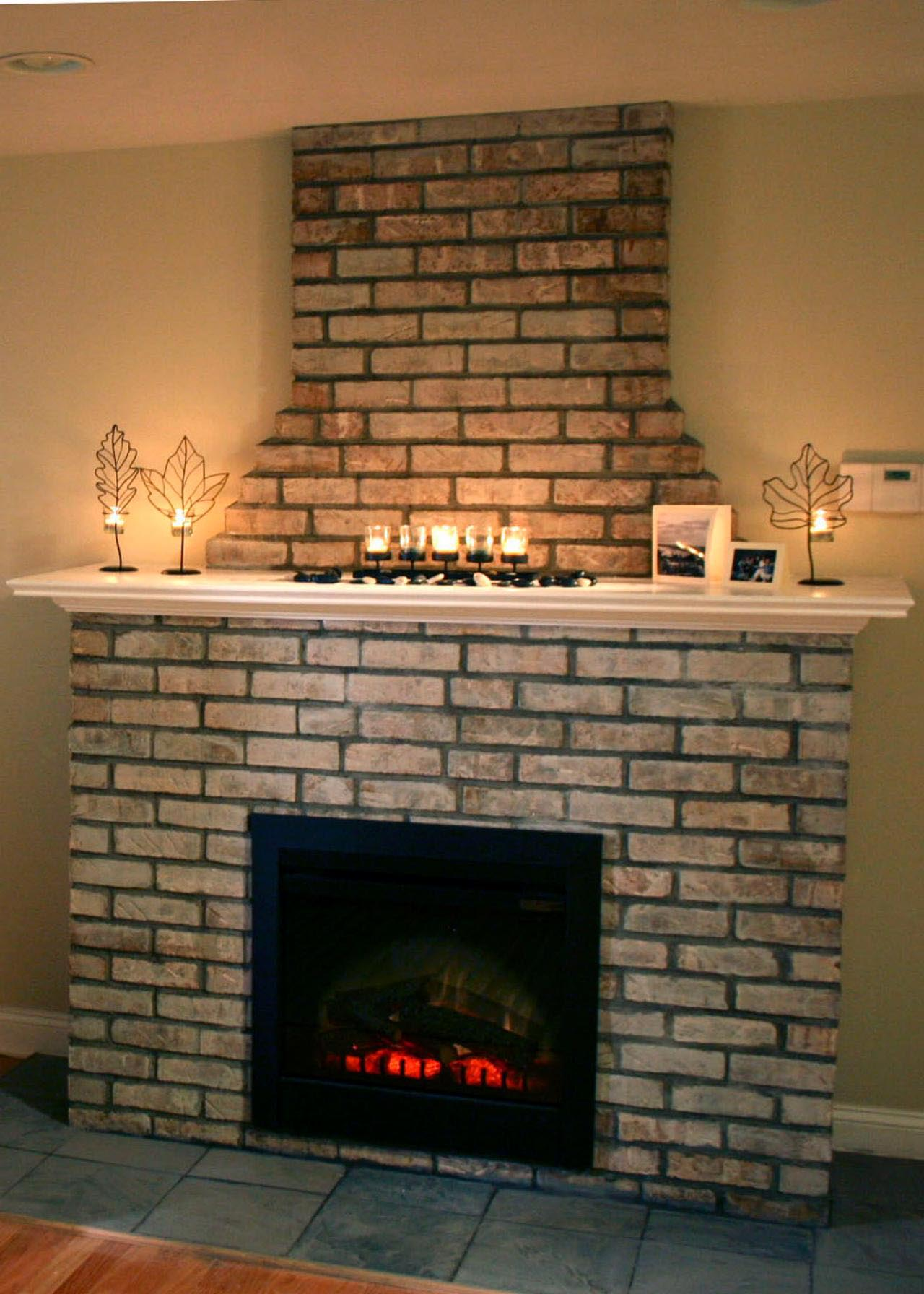 diy electric fireplace surround - How To Build A Fireplace Surround