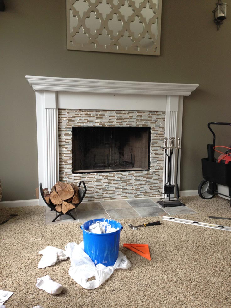 Diy Fireplace Mantel Surround Fireplace Designs