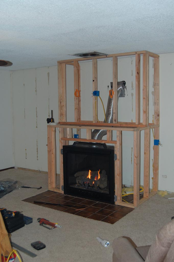 How to DIY Fireplace Surround Here : DIY Gas Fireplace Surround. Diy gas fireplace surround. fireplace ideas