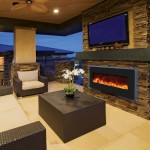 Electric Fireplace Built-in