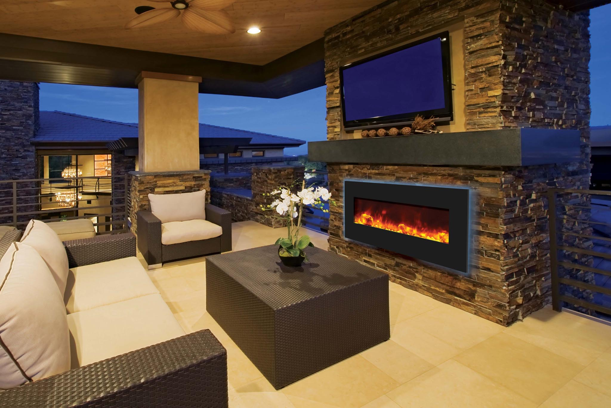 Electric Fireplace Built In Fireplace Designs
