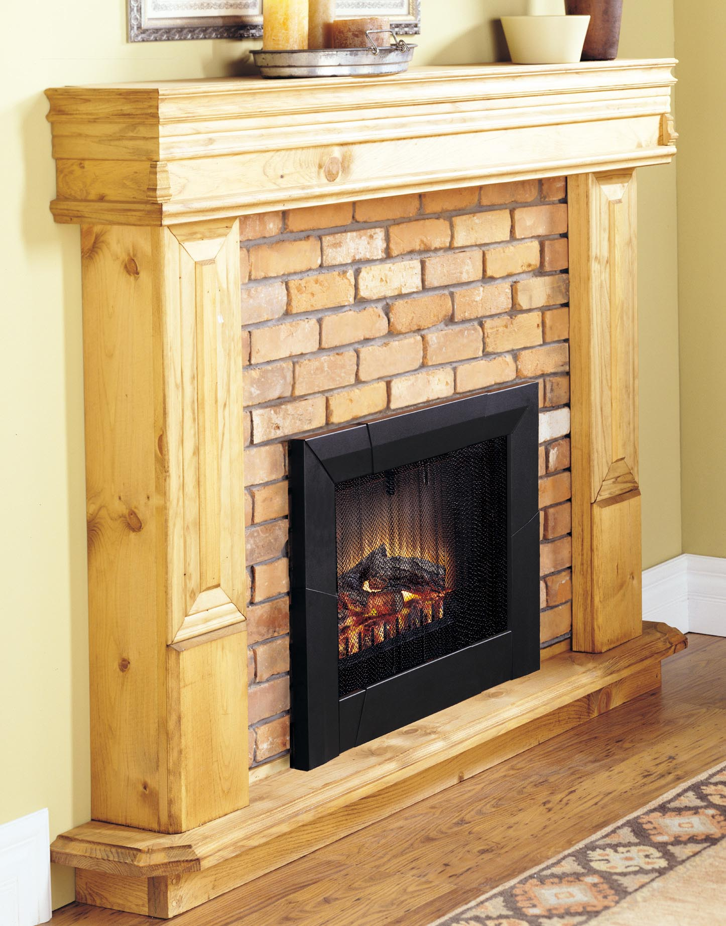 Fake Fireplace Insert Logs And More Accessories For Heaters Fireplace Designs