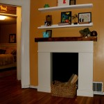 Fake Fireplace Mantel Ideas