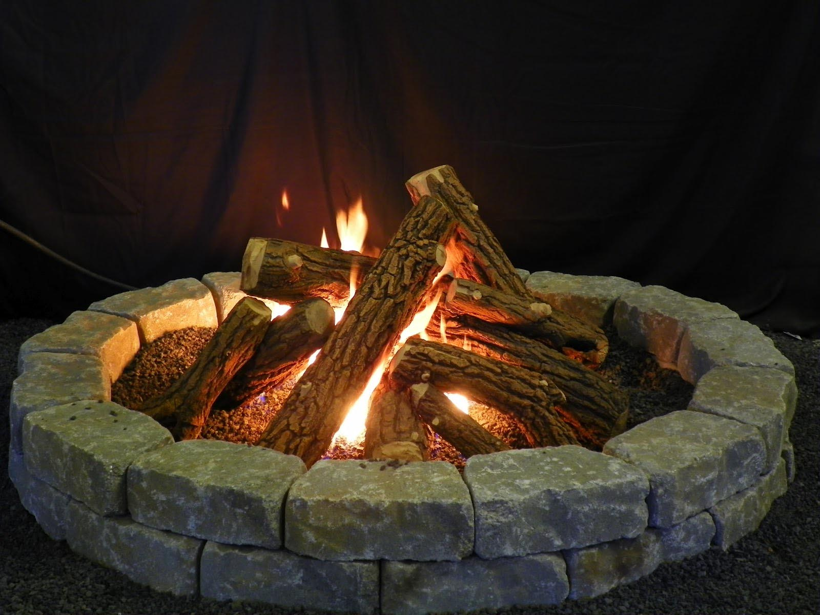 Fake Logs Gas Fireplace Fireplace Designs
