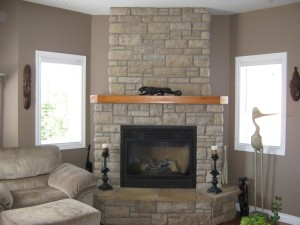 Fake Stone Fireplace Ideas