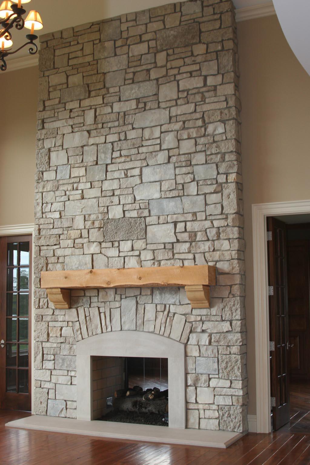 Fake Stone Fireplace Images