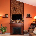 Fake Stone Fireplace Panels