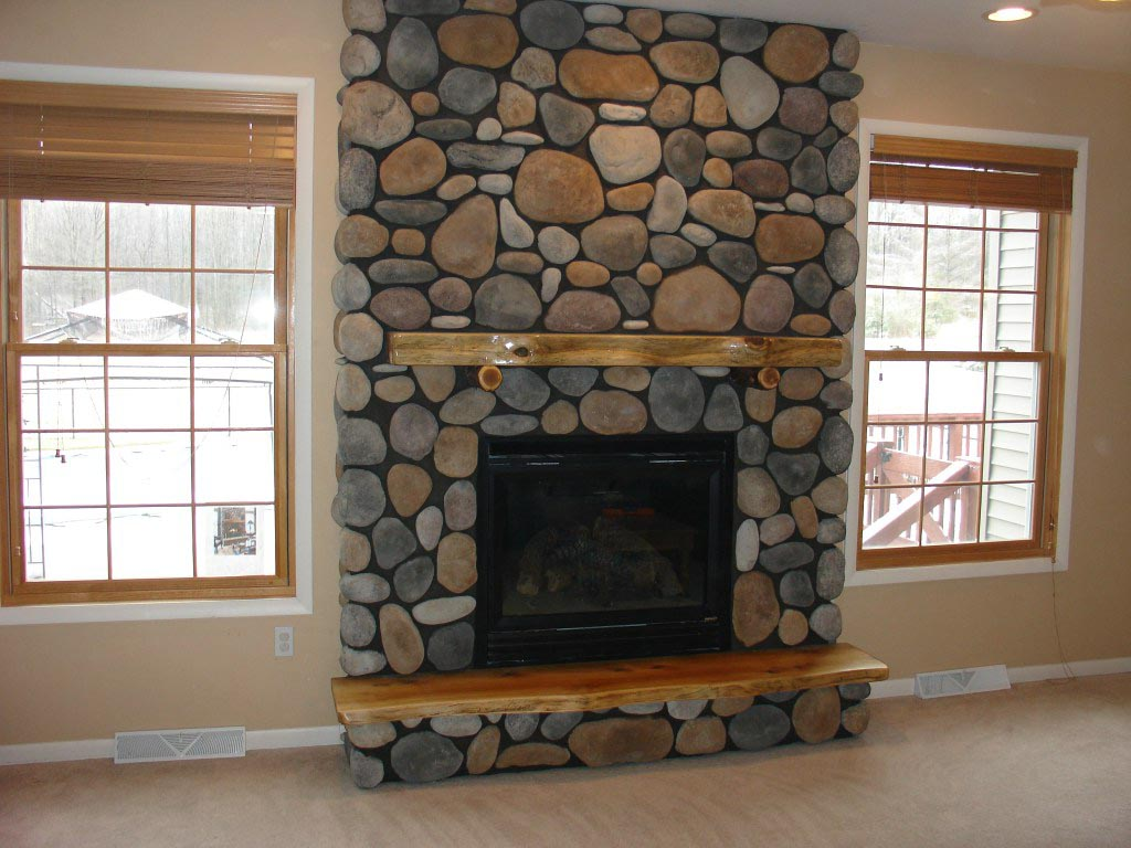 Fake Stone Fireplace Surrounds