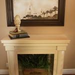 Faux Fireplace Mantel Ideas