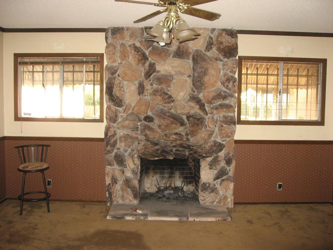 Faux Fireplace Stone Veneer