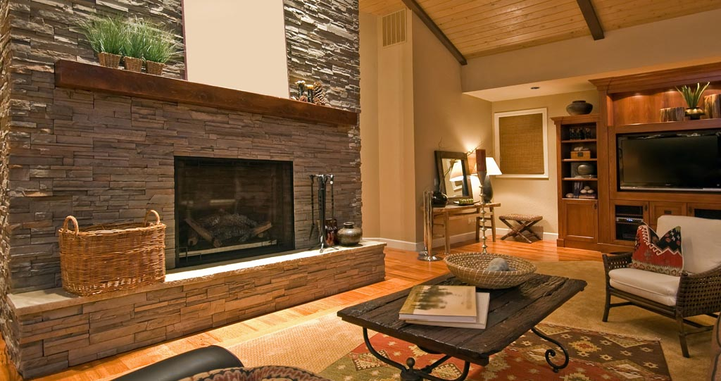 Faux Stone Fireplace Ideas