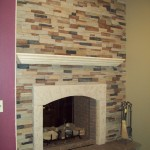 Faux Stone Fireplace Panels