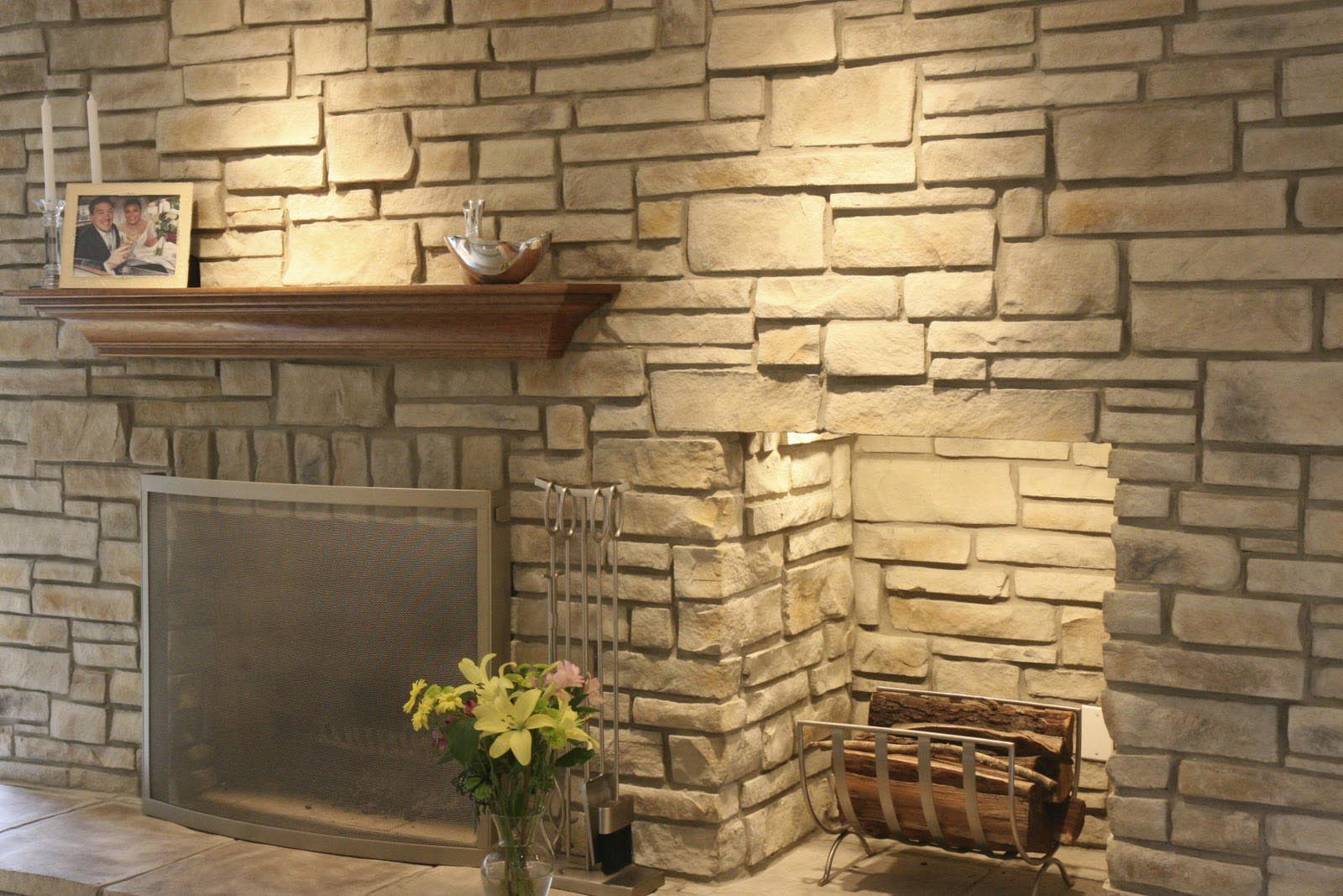 Faux Stone Panels For Fireplace Fireplace Designs