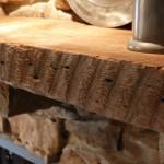 Faux Wood Fireplace Mantel