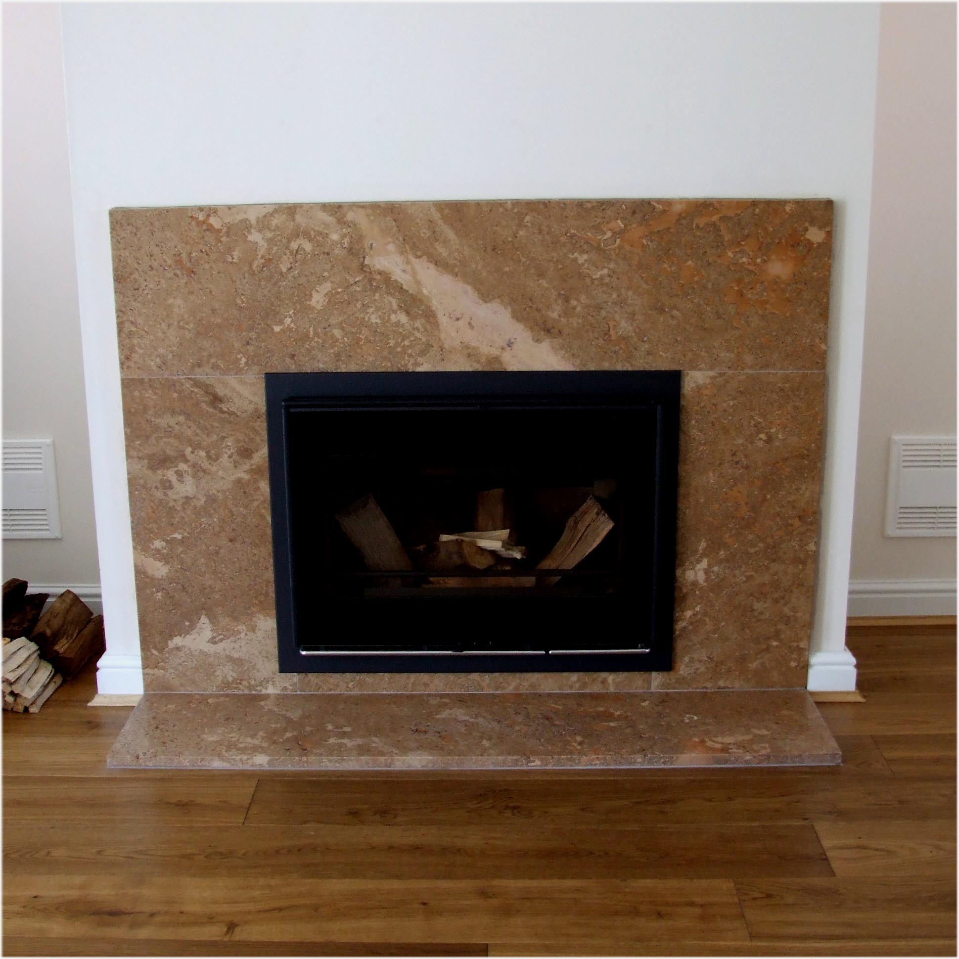 Fireplace hearth stone tiles fireplace designs for Marble for fireplace surround