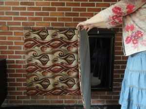 Fireplace Magnetic Vent Cover