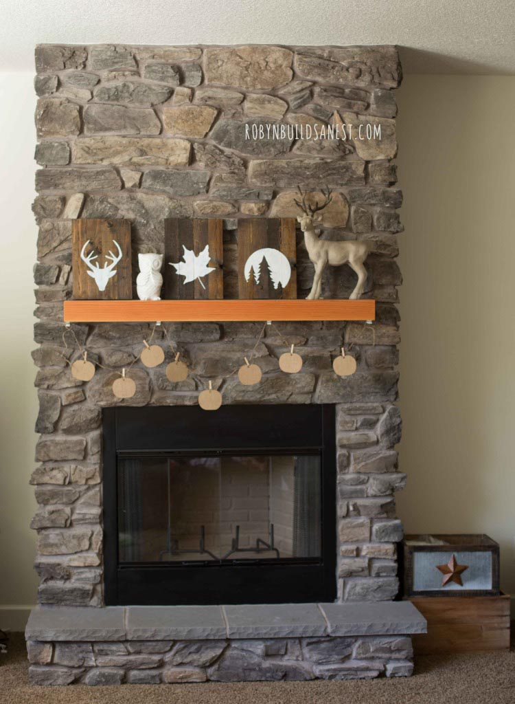 Fireplace Mantel Designs DIY