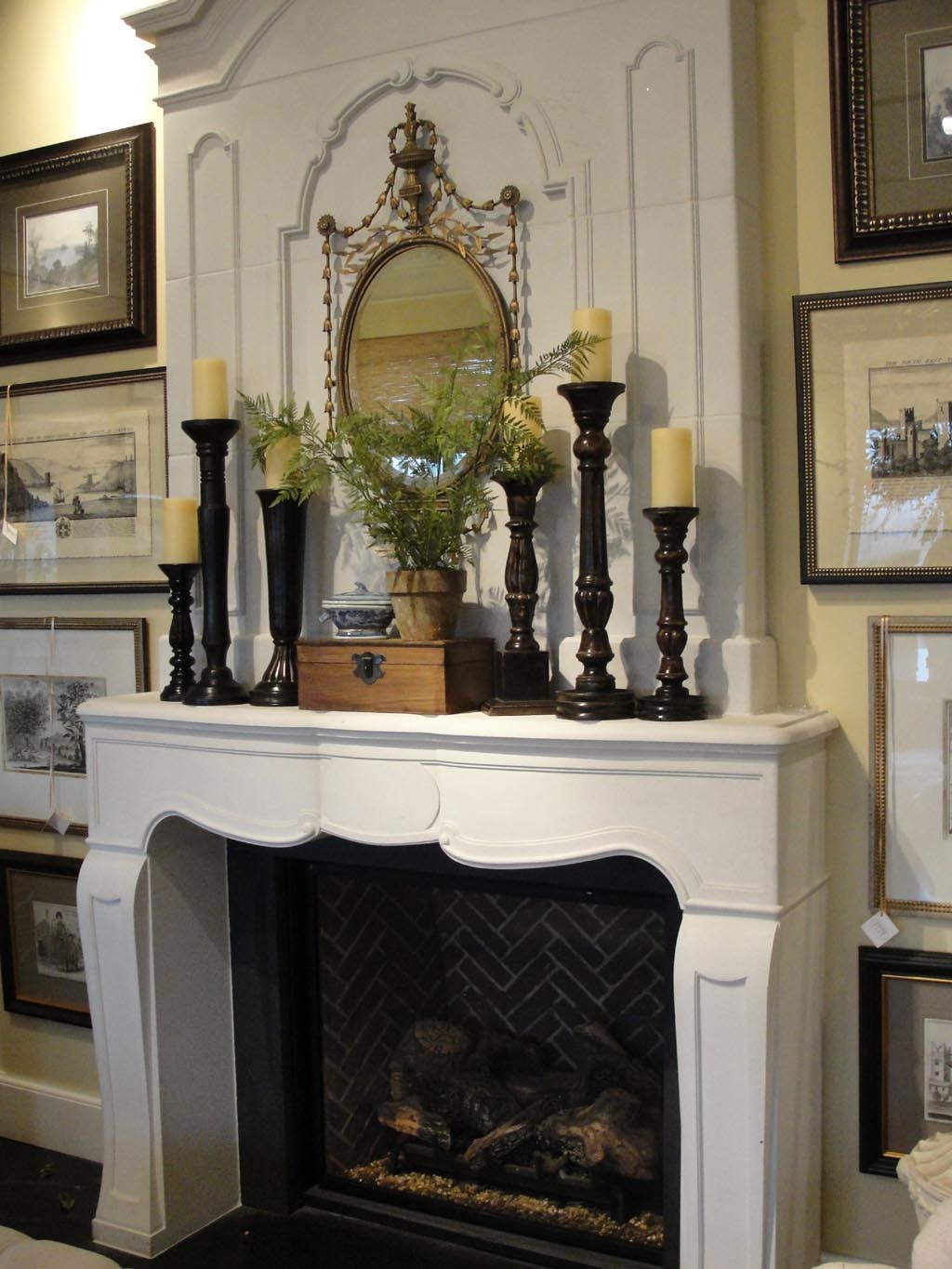 Fireplace Mantel DIY Plans