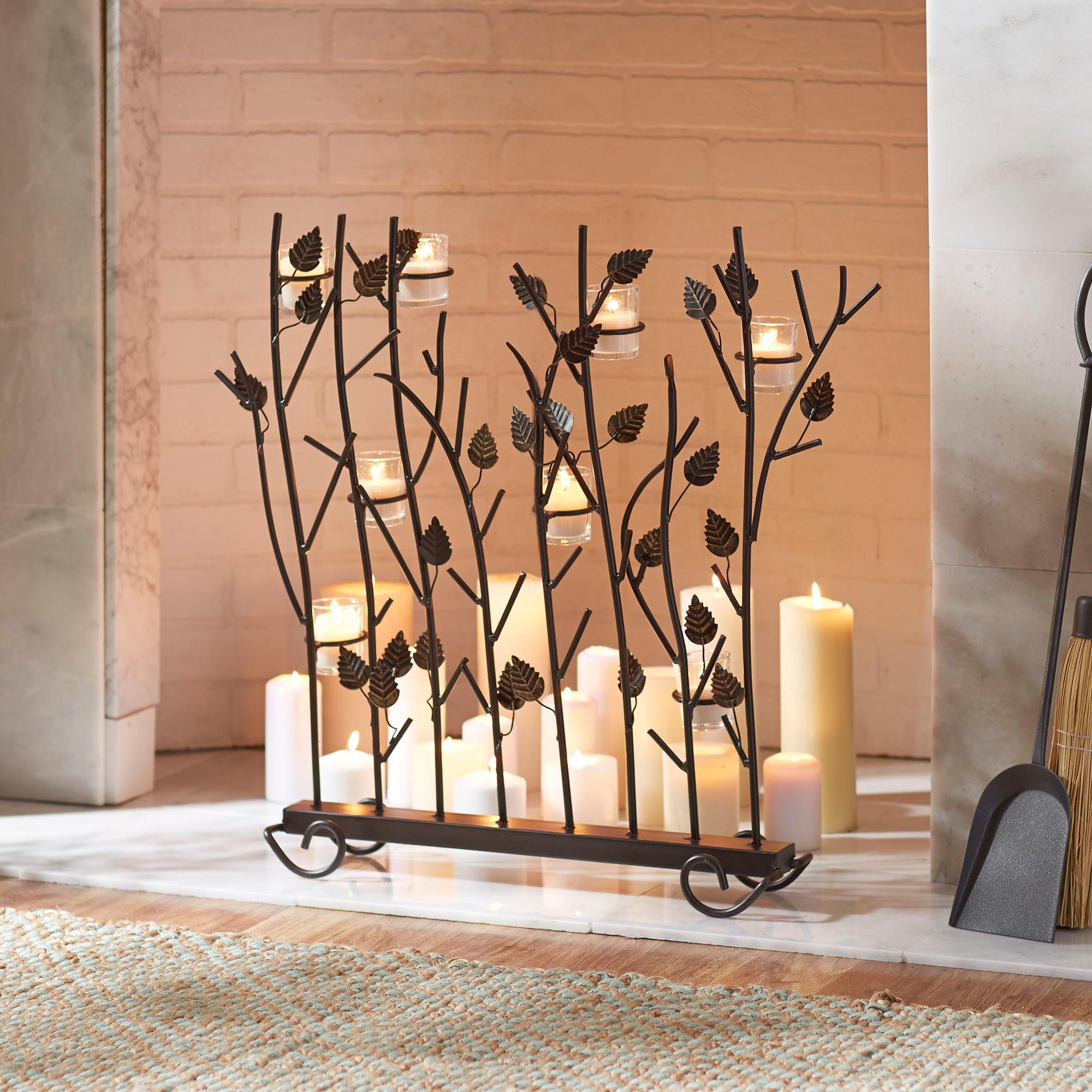 wrought iron fireplace candle holder pictures to pin on pinterest