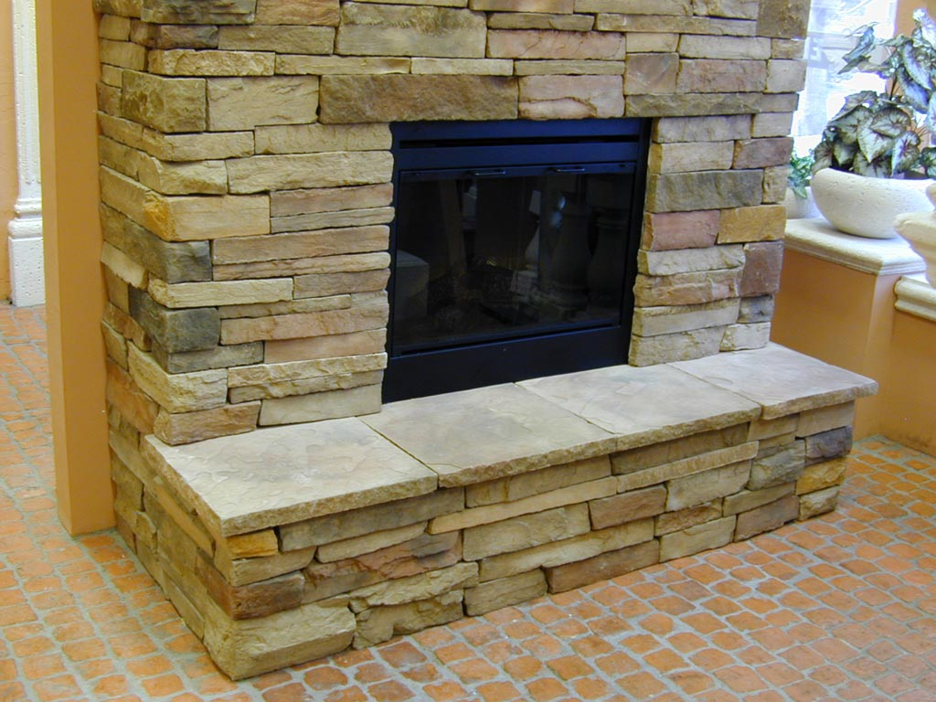 Fireplace Stone Veneer Panels