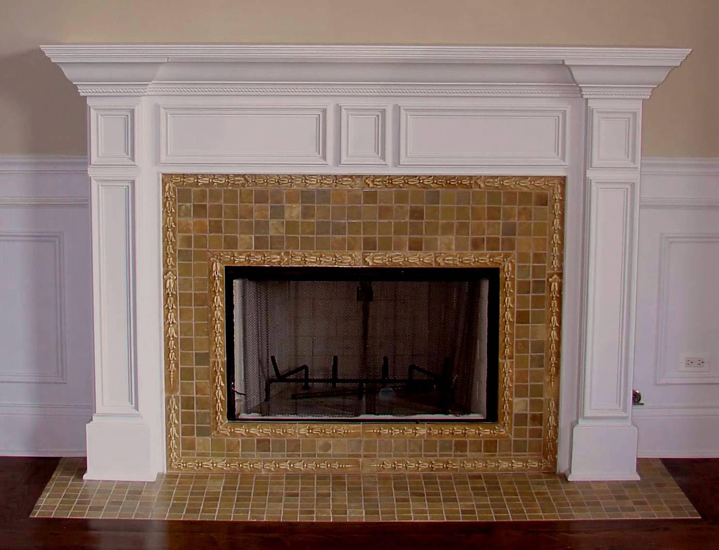 fireplace tile surround ideas fireplace designs