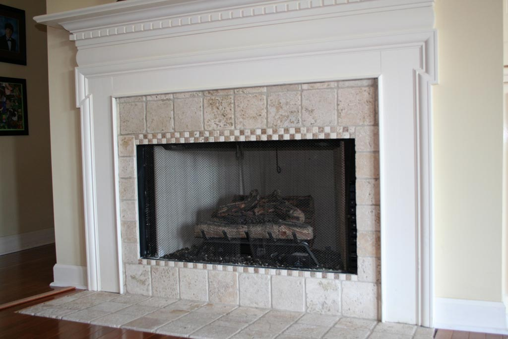Gas Fireplace Surrounds Creating Comfort Fire And