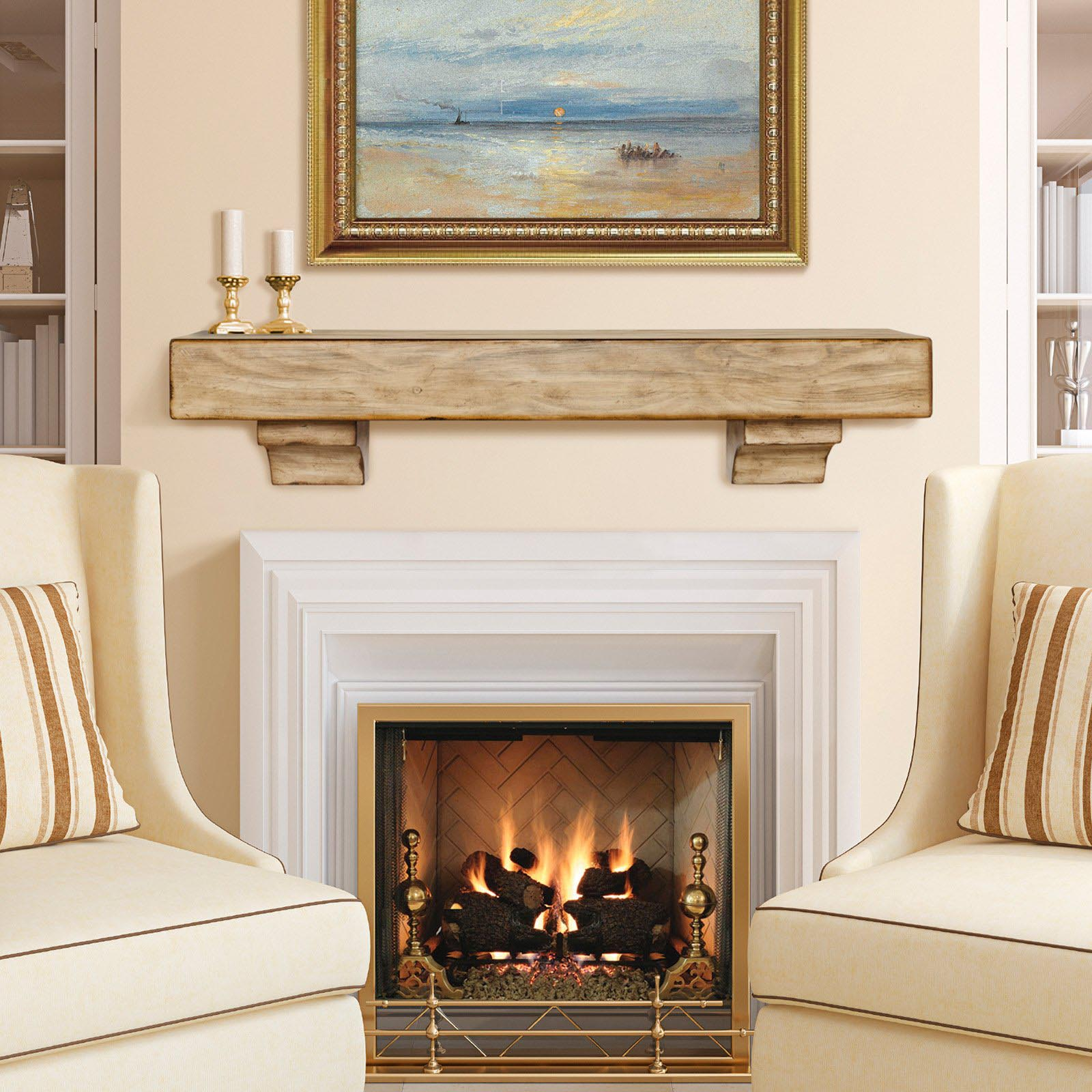 Gas Fireplace Mantel Surrounds