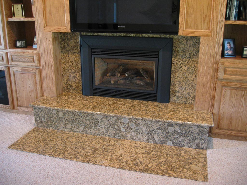 Granite for Fireplace Surround