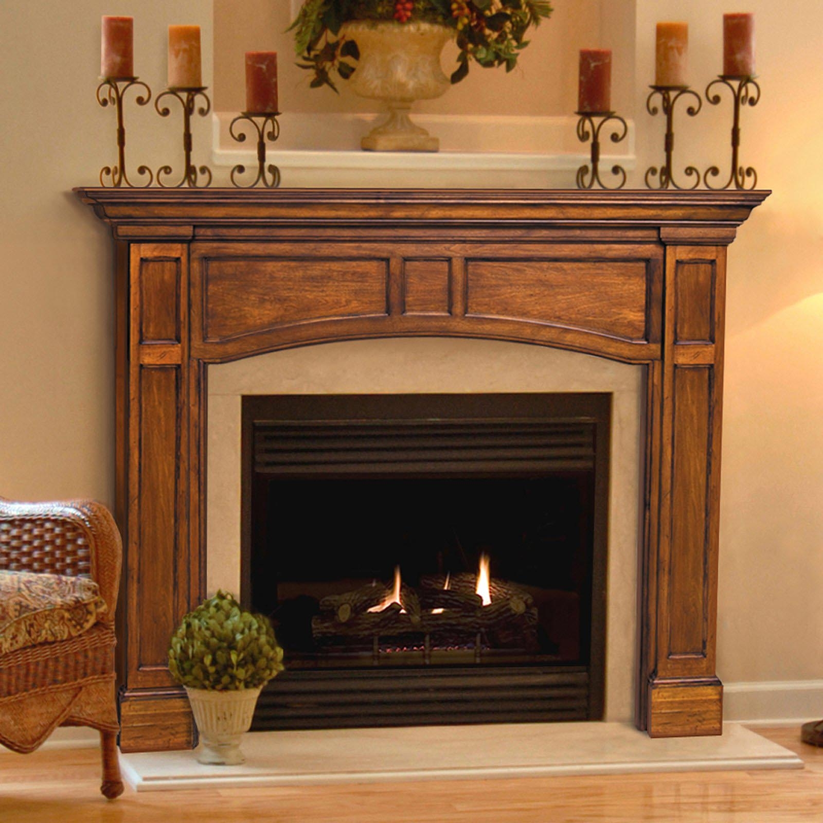 How to build a fireplace mantel and surround fireplace for How to design a fireplace mantel