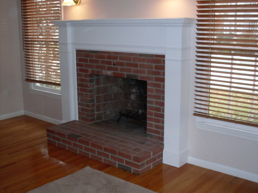 How to Build a Wood Fireplace Surround