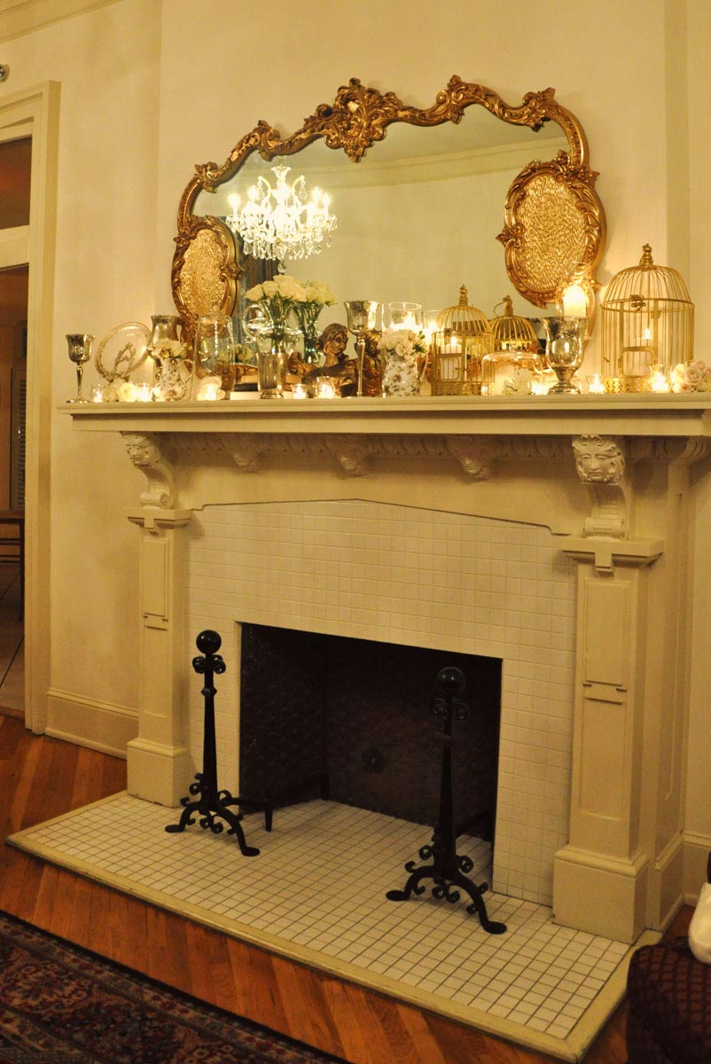 How to Decorate a Stone Fireplace