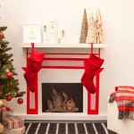 How to Make a Fake Fireplace for Christmas