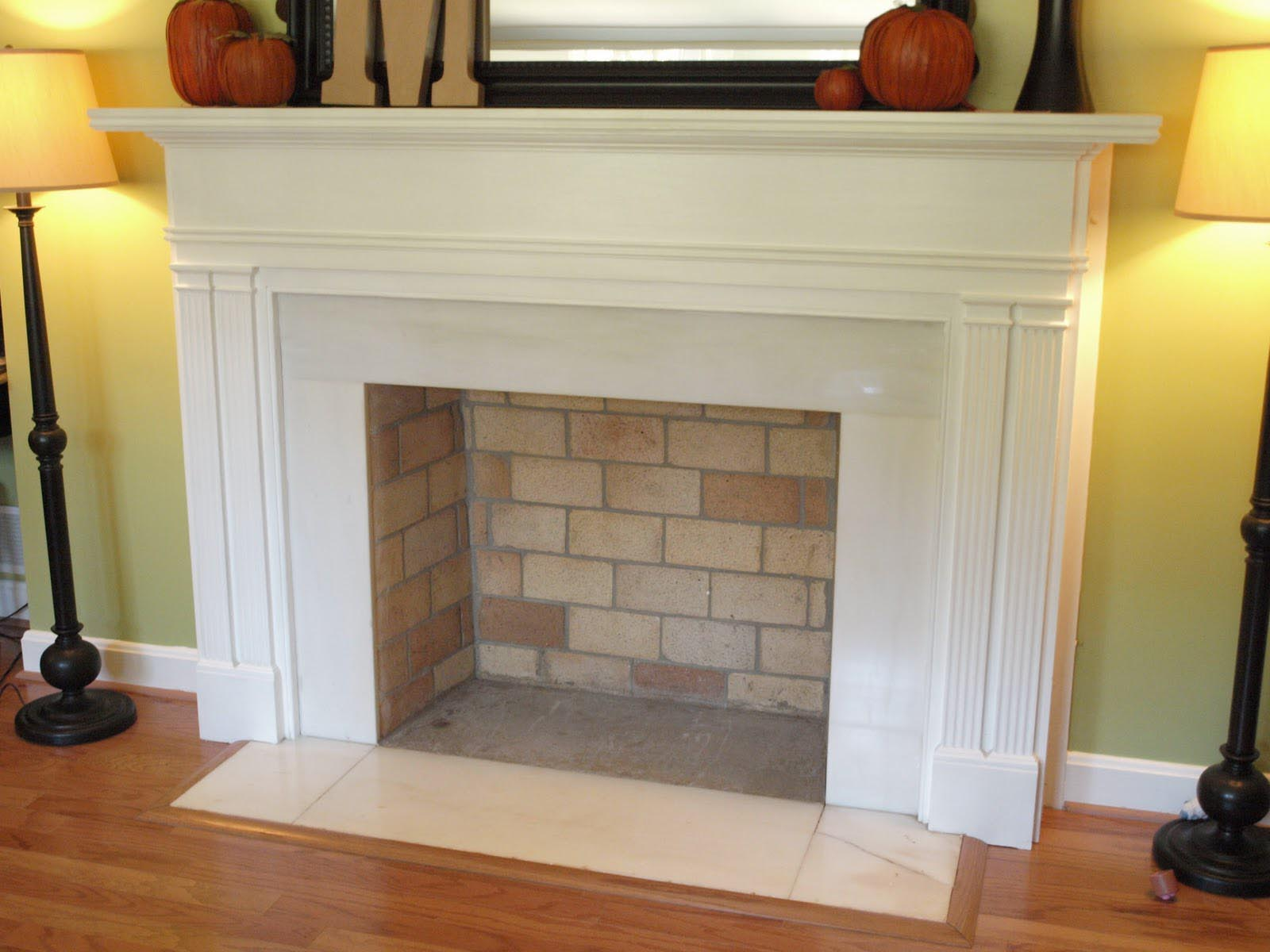 How to Make a Fake Fireplace Out of a Bookshelf