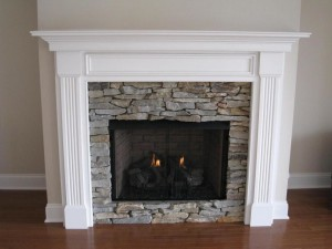 How to Make a Faux Fireplace Mantel