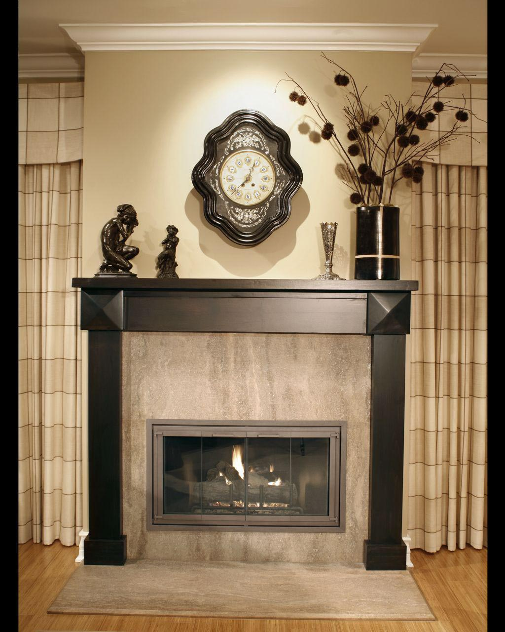 How To Paint Metal Fireplace Surround Fireplace Designs