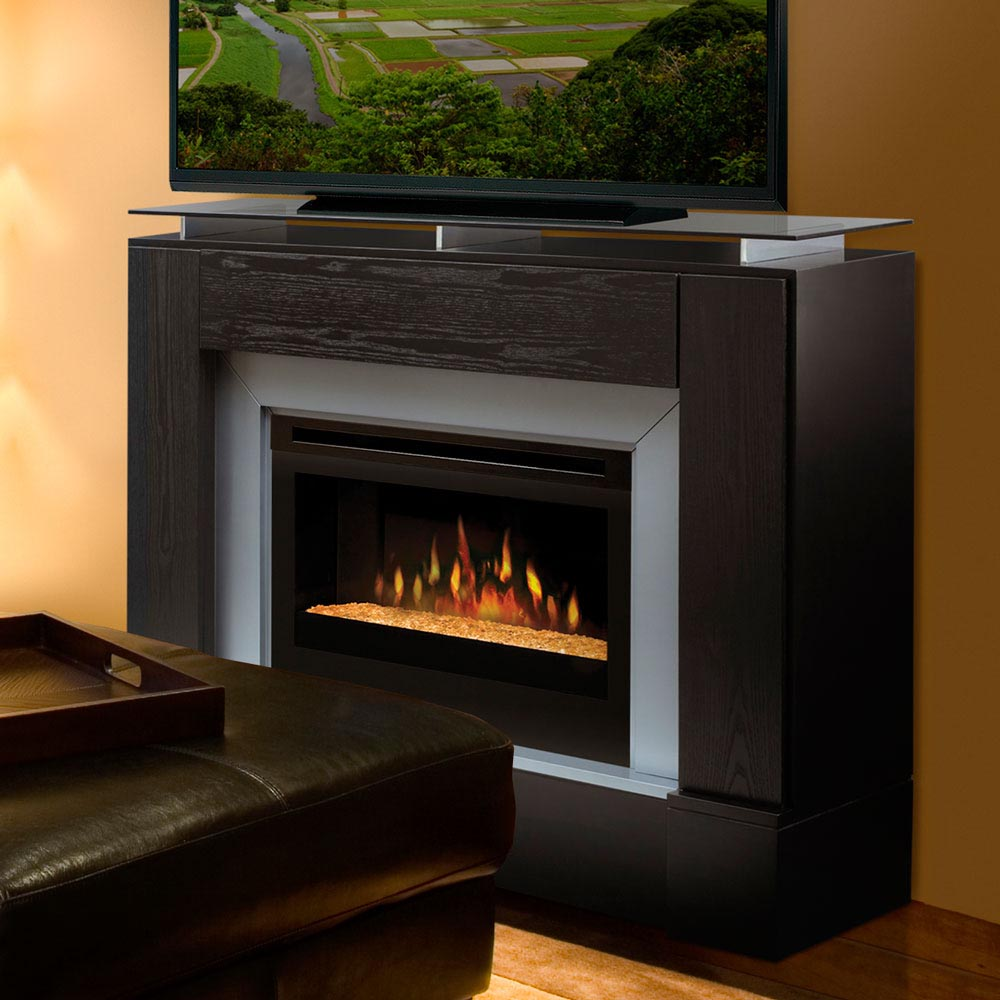 stylish indoor electric fireplace great comfort